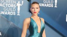 Scarlett Johansson: Glamour de Armani en los SAG Awards