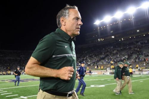 Can coach Mark Dantonio right the ship at Michigan State? (Getty)
