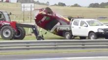 'Terrible image': Support race abandoned after nightmare Sandown crash