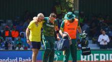 Du Plessis injured during South Africa-Bangladesh run feast