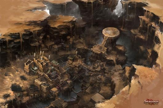 Swordsman announces Gilded Wasteland expansion