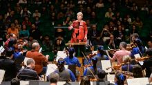 History-making female conductor Alsop wields baton for equality