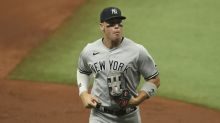 Yankees place MLB home run leader Aaron Judge on injured list with calf strain