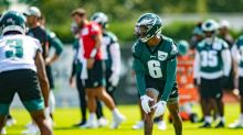 Eagles training camp: Live updates from this evening's practice