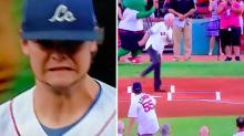NUTS! First Pitch Fail At Red Sox Game Is Painful To Watch