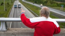 Freddie Wilson isn't dead — and he's still waving from his overpass