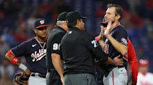Max Scherzer bucks against MLB's sticky stuff crackdown after tense exchange with Joe Girardi