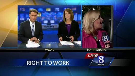 Group wants Pa. lawmakers to recognize right to work