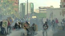 Venezuela protest: Pro-government supporter set on fire as death toll hits 48