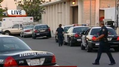 Stockton Police Department Targeted In Drive-By Shooting