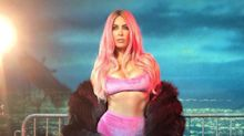 Kim Kardashian channels 1990s icons in themed photo shoot