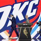 Oklahoma City Thunder take Aussie guard Josh Giddey at No. 6