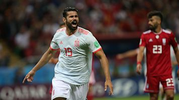 Costa fluke gives Spain crucial win over Iran