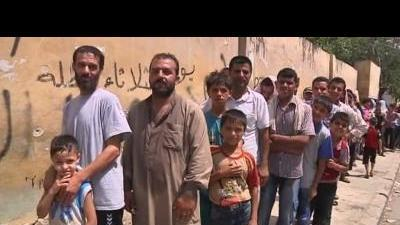Syrians face shortages as Aleppo battle rages