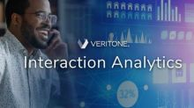 Veritone Introduces Interaction Analytics, Providing Near-Real-Time Insights From Customer Touchpoints