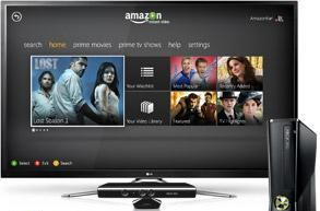 Amazon Instant Video streaming is now live on the Xbox 360