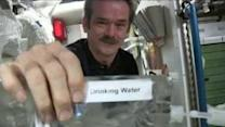 Chris Hadfield Explains Water Recycling on the International Space Station