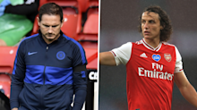 'What I have for David is a real respect' - Chelsea boss Lampard not targeting Luiz as Arsenal weak link