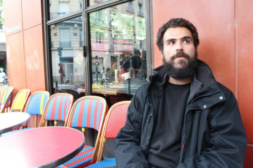 Mohammad Hijazi fled Syria's civil war for France and now says the France election results will decide whether his mother can join him.