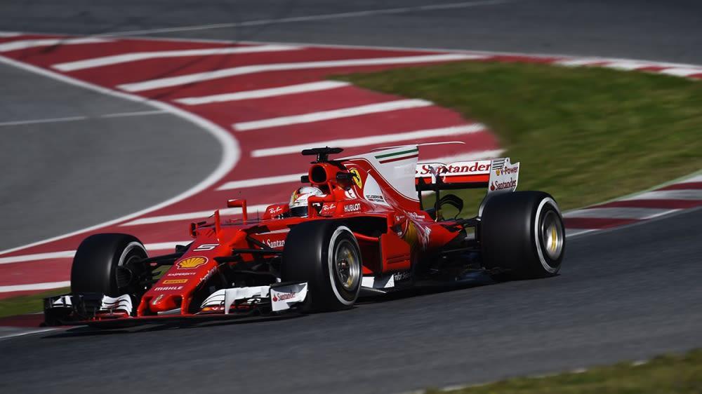2017年F1最終季前集測第三天Vettel強勢