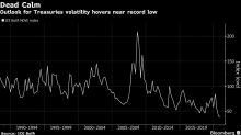 Eerie Calm in Treasuries at the Mercy of Jobs and Virus Data