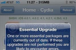 Cydia 1.1 unleashed, performance improvements abound