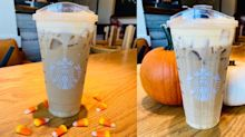 This Starbucks Candy Corn Cold Brew Is Way Better Than the Candy Itself