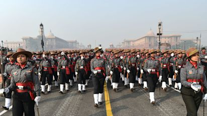 In Photos: On R-Day, All-Women Contingent to Portray 'Nari Shakti'