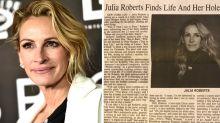 Newspaper's awkward Julia Roberts typo goes viral