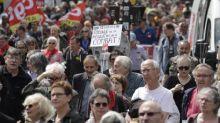 Les retraités défilent contre le gouvernement et pour leur pouvoir d'achat