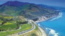 How to see the California coast by train
