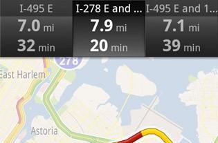Google Maps Navigation for Android adds real-time traffic re-routing