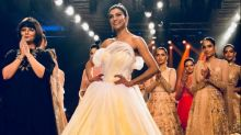Sushmita Sen's Timeless-Meets-Futuristic Gown At The Finale Of BTFW 2018 Was A Masterpiece