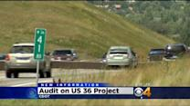 State Audit Criticizes CDOT's Handling Of U.S. 36 Project