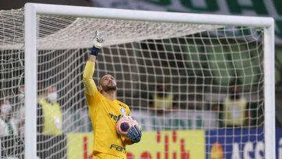 Próximo dos 150 jogos, Weverton fala em 'dar a vida pelo Palmeiras'