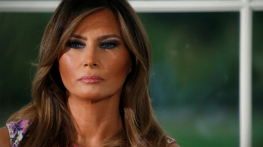Melania Trump's fire and fury has deep roots