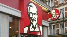 KFC closures as chain runs out of chicken