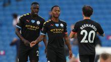 Sterling enjoying best goalscoring season of his career after Man City hat-trick at Brighton