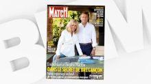 """Opération communication pour Emmanuel Macron en une de """"Paris Match"""""""