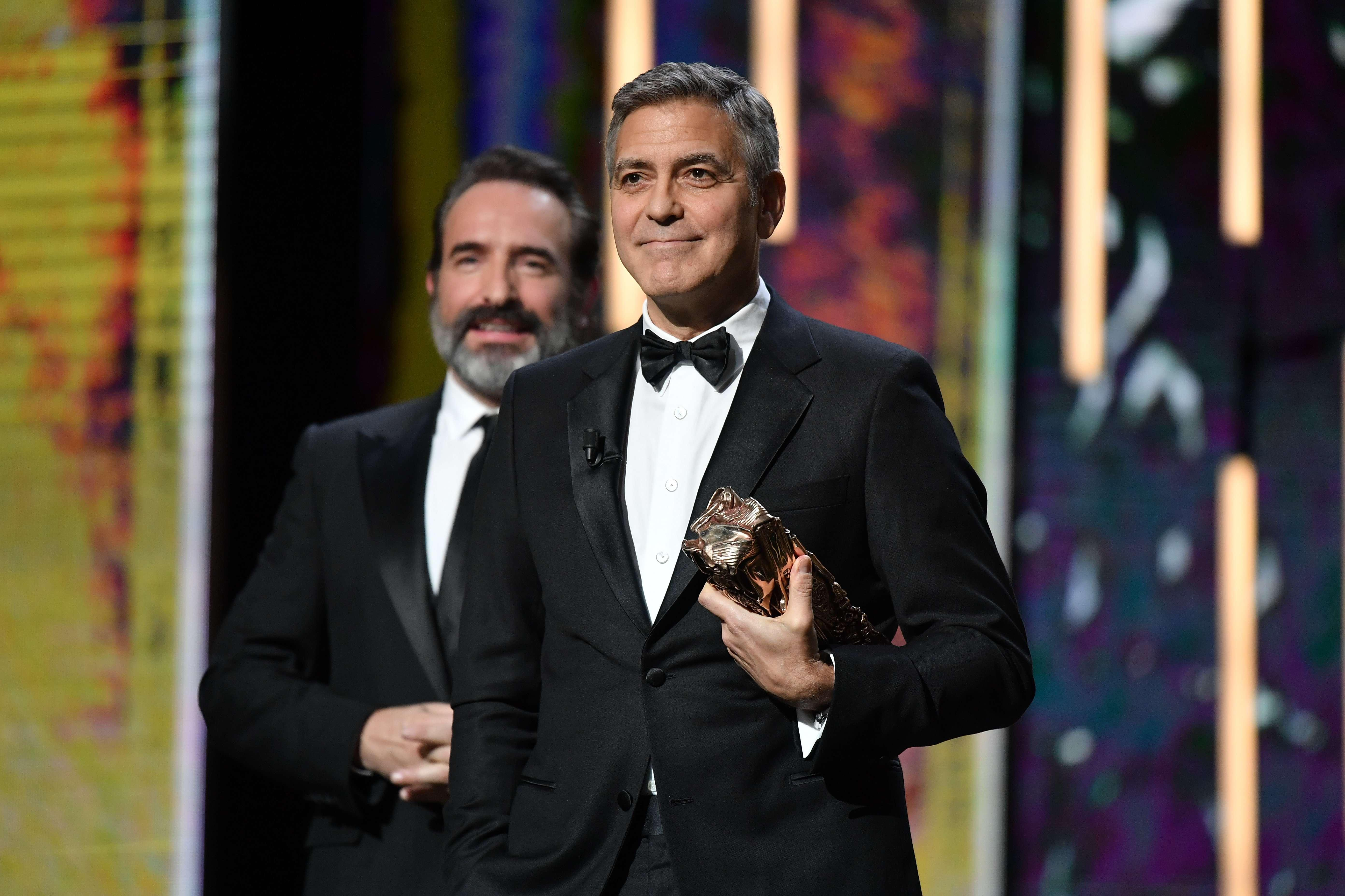 George Clooney Slams Donald Trump In Clever C Sar Awards