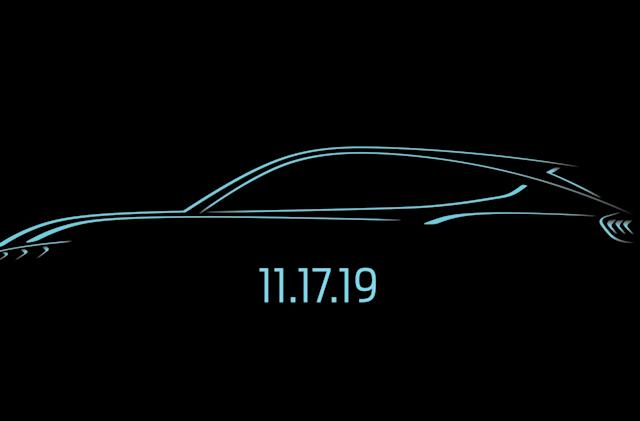 Ford will reveal its 'Mustang-inspired' electric SUV on November 17th