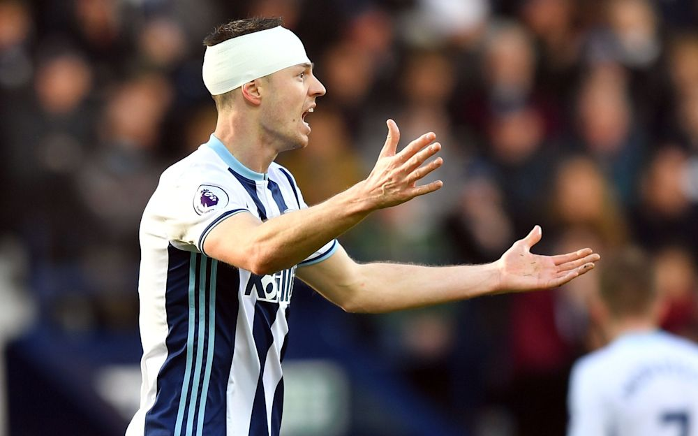 Jonny Evans is having an excellent season at West Brom - PA