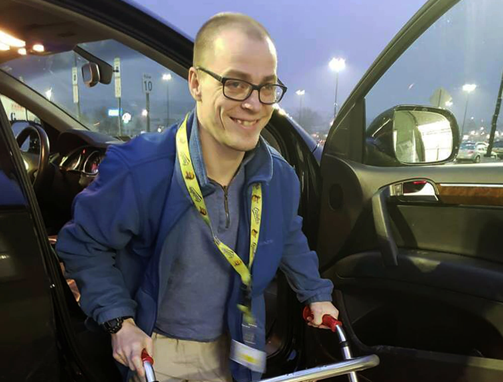 Escaping Disability Trap >> Disabled Greeter Meets With Walmart About Job No Resolution