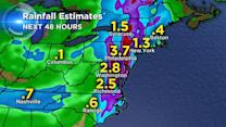 Millions along East Coast face flooding risk