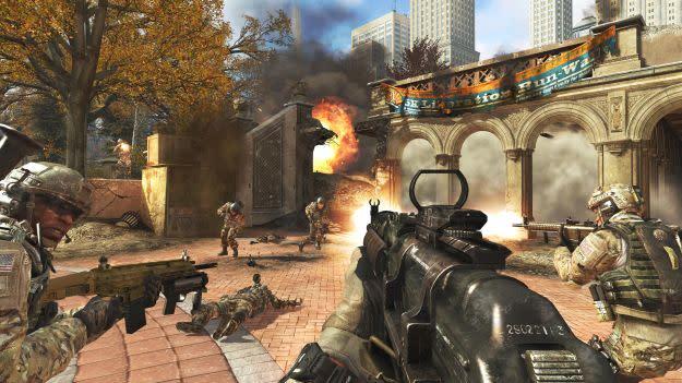 Call of Duty: Modern Warfare 3 Piazza and Liberation map