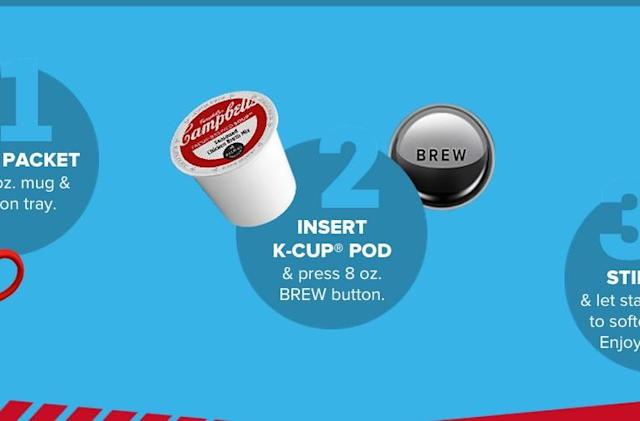 Keurig goes beyond beverages to make you a cup of soup