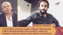 """Jorge Javier Vázquez se defiende en Sálvame de los ataques del médico Jesús Candel: """"Es mi obligación venir a trabajar"""""""