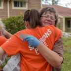 Volunteers, charities help victims to rebound from Hurricane Florence so they don't have to 'face this tragedy alone'
