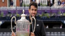 Matteo Berrettini fends off Cameron Norrie to win title at Queen's on first attempt