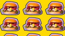 A giant billboard made of burgers is coming to London next month